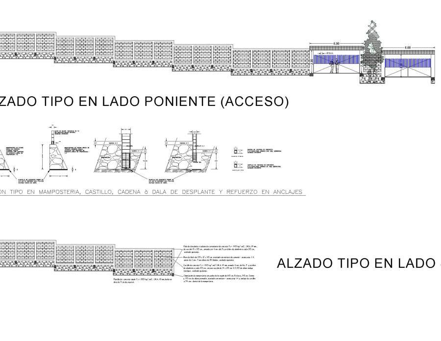 Proyecto de bardeado perimetral