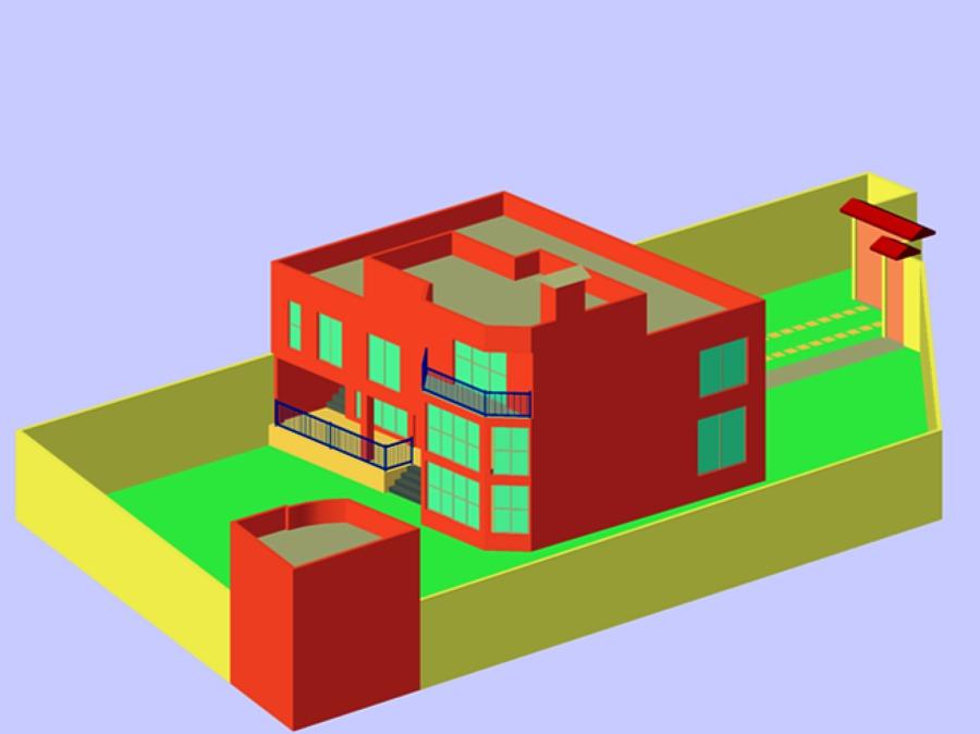 Proyecto casa habitación.