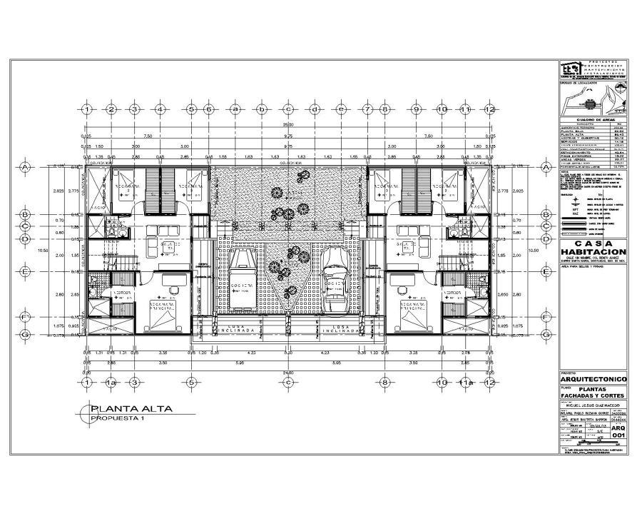 foto proyecto de casa habitacion de proyectos