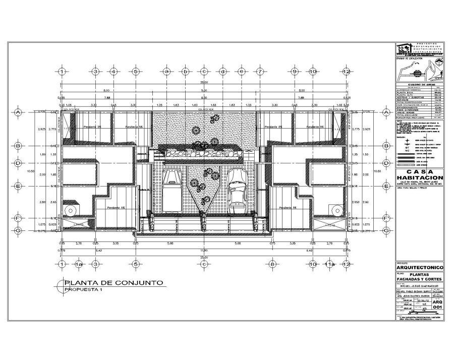 Proyecto de casa habitaci n ideas arquitectos for Casas ideas y proyectos