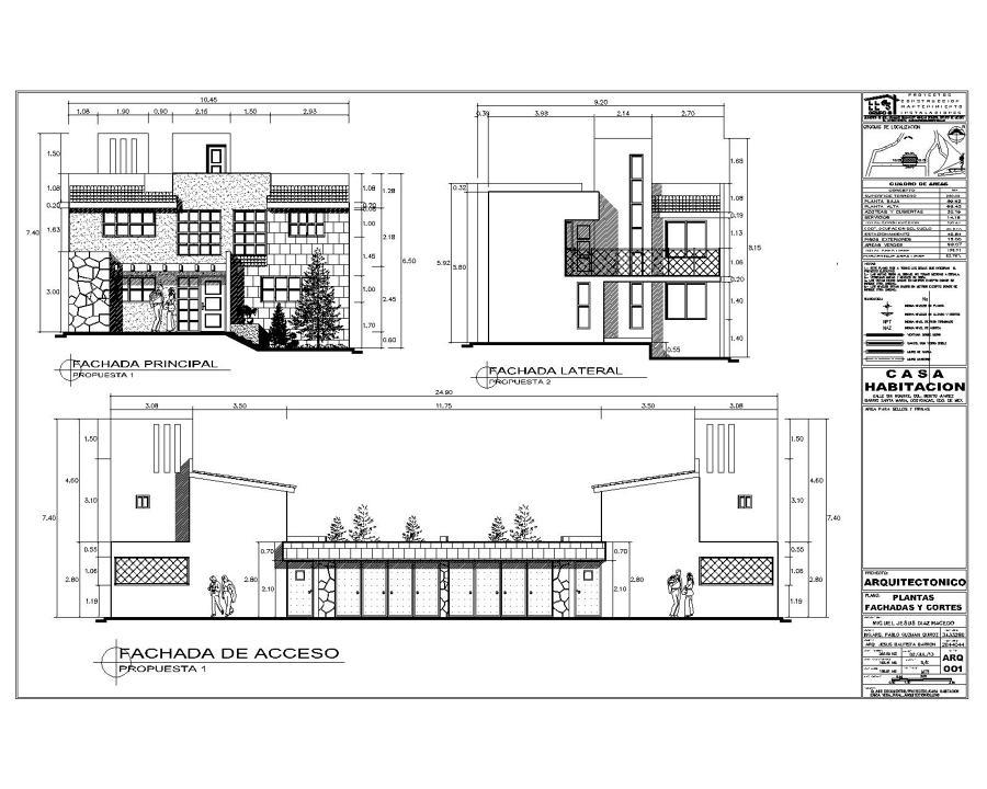 Proyecto de casa habitaci n ideas arquitectos for Antropometria de la vivienda pdf