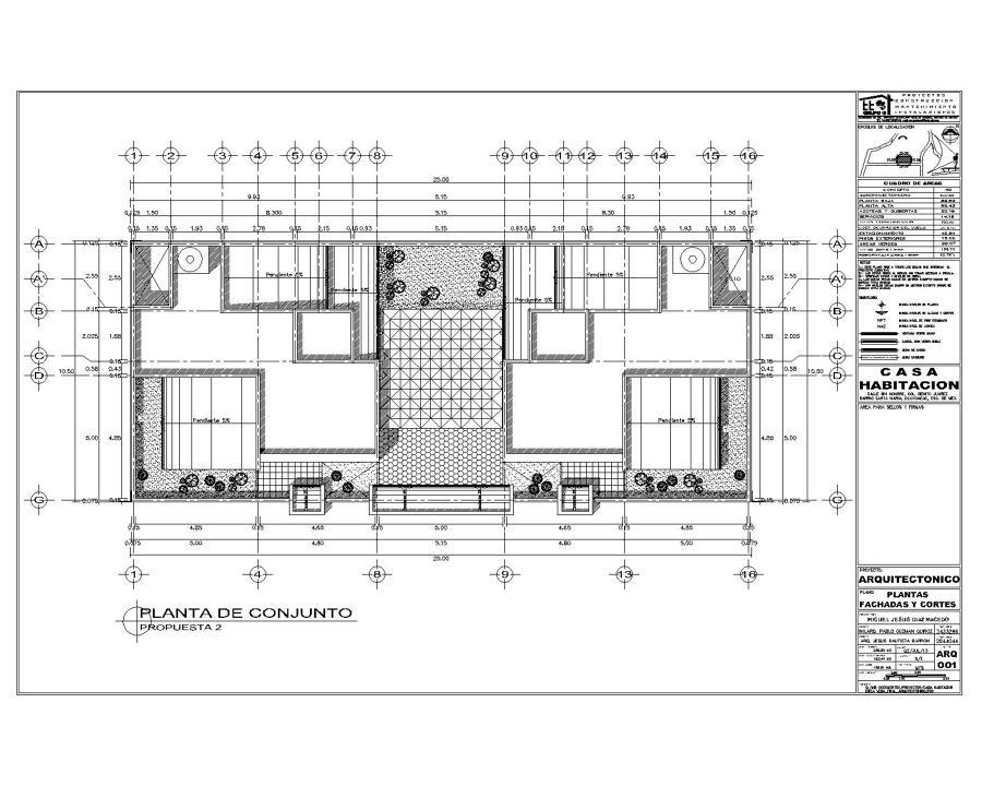 Proyecto de casa habitaci n ideas arquitectos - Proyecto de casas ...