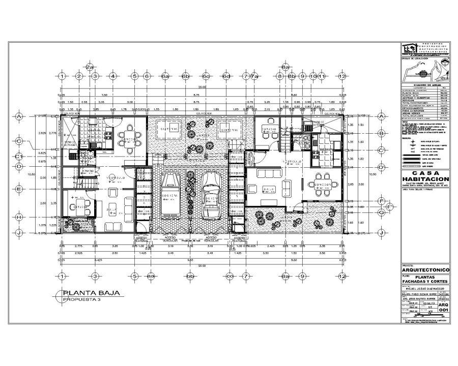 Proyecto De Casa Habitaci N Ideas Arquitectos
