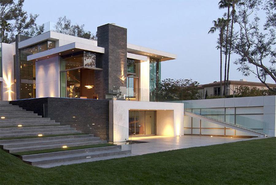 Foto proyecto de casa residencial render de dise os hym for Casa minimalista residencial