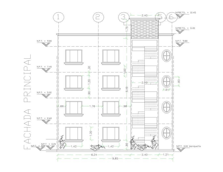 Proyecto de departamentos residenciales