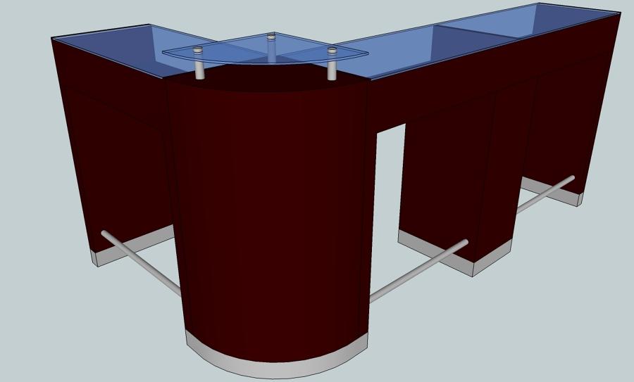 proyecto de mobiliario para salon de estetica y u as