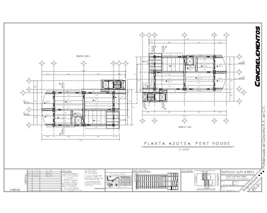 Proyecto edifcio departamentos