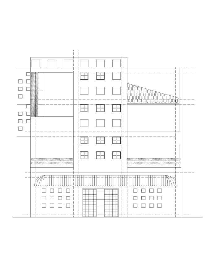 Proyecto mixto habitacional-comercial