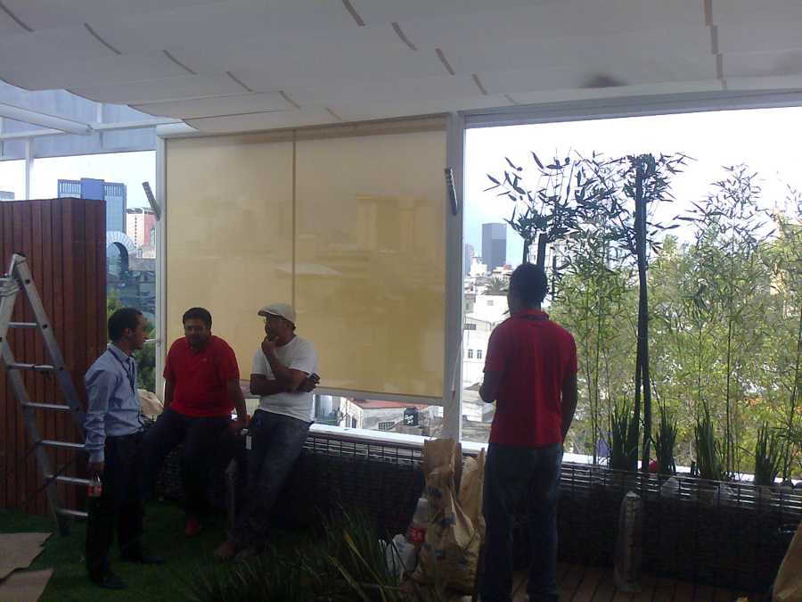 Zen Decoracion Aguascalientes ~ Foto Proyecto Palillerias Zen, Screen Rits y Lona Fija de Gaviota