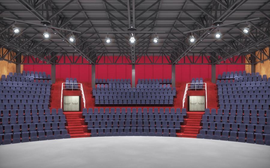 Proyecto para Auditorio 520 personas