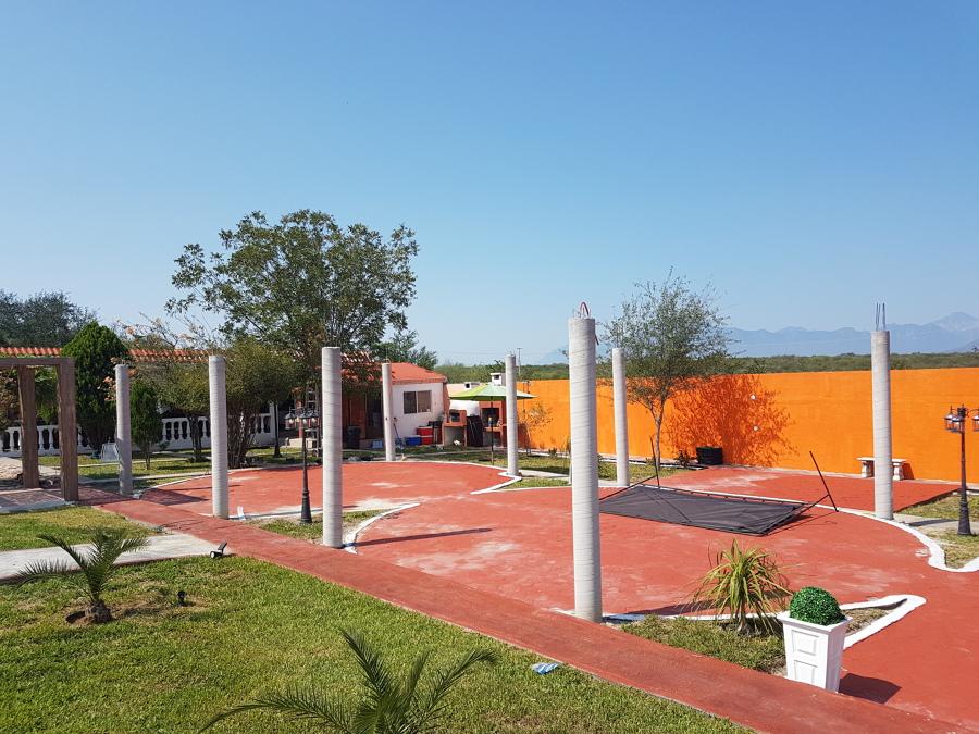 Proyecto  Quinta  columnas y  techumbre