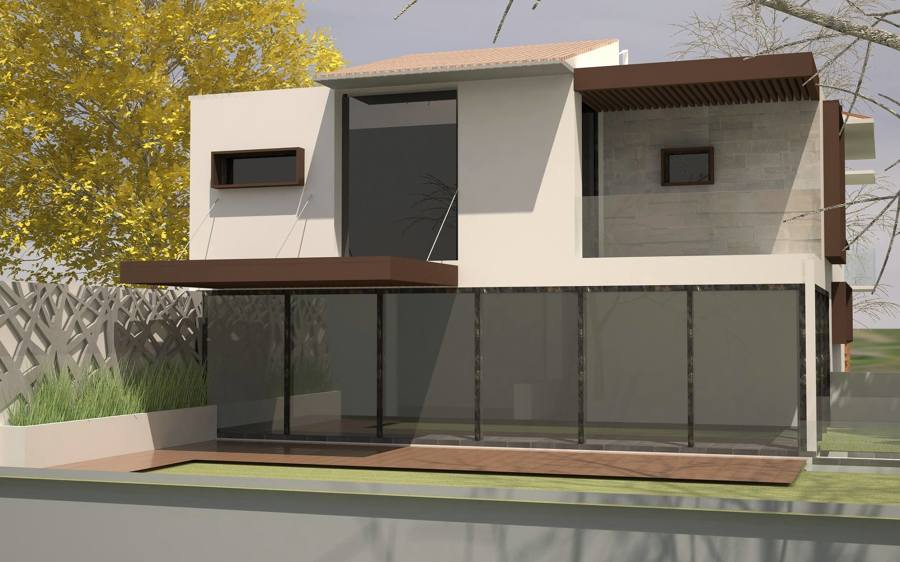 Proyecto Vista Horizonte, Fachada Trasera