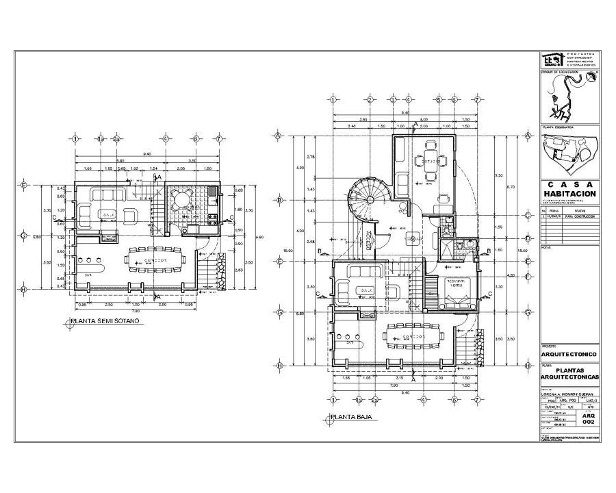 Proyecto y supervisi n de obra proyectos construcci n casa - Proyecto de casas ...