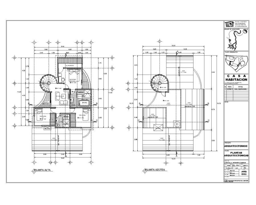 foto proyecto y construccion de casa habitacion de