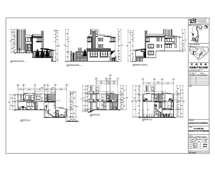 Foto proyecto y construccion de casa habitacion de - Proyecto de casas ...