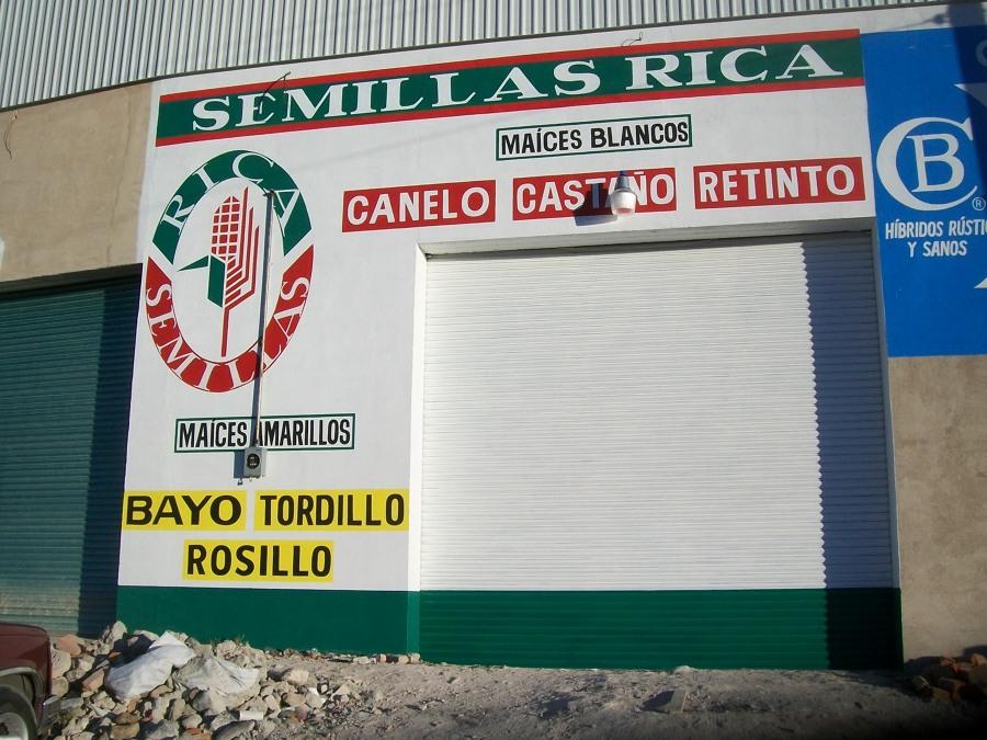 foto publicidad exterior empresa de semillas de pintura rotulacion y mantenimiento 132489