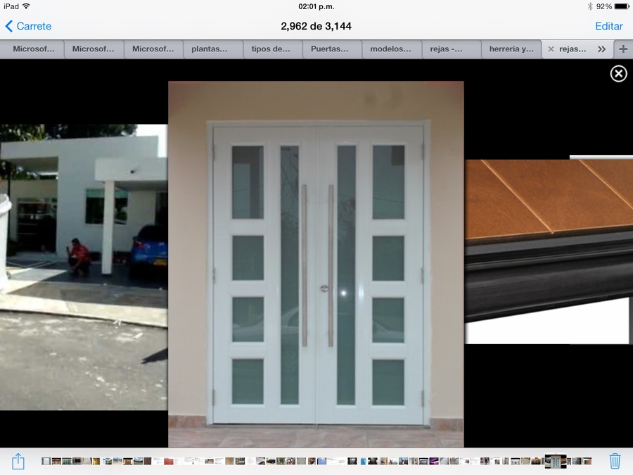Puertas de herreria para entrada principal stunning for Puertas de cristal para entrada principal