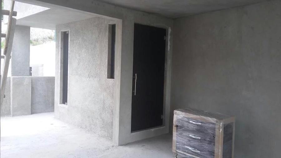 Puertas De Baño Templadas:Puerta de Baño templada y vetanas de vidrio templado negras con