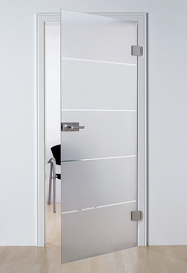 Foto puerta de cristal templado de vitroideas 287189 for Puertas de cristal templado