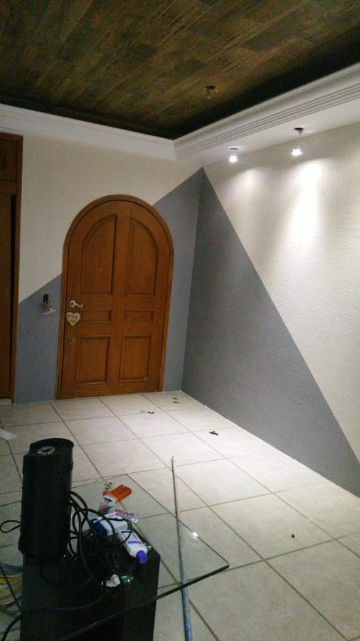 Puerta entre triangulo