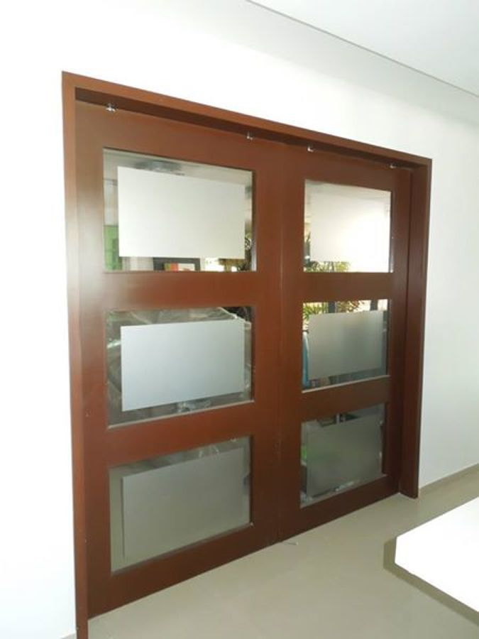 Puerta cocina puerta de aluminio para cocina buscar con for Como hacer puertas de madera para cocina