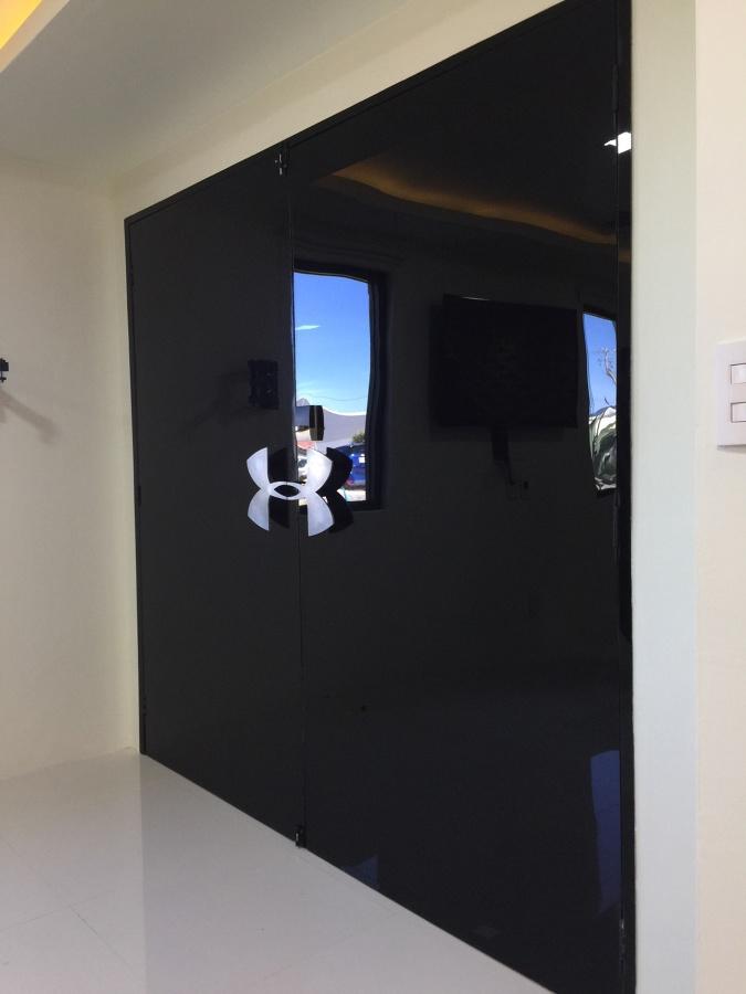 Puerta vista desde el interior