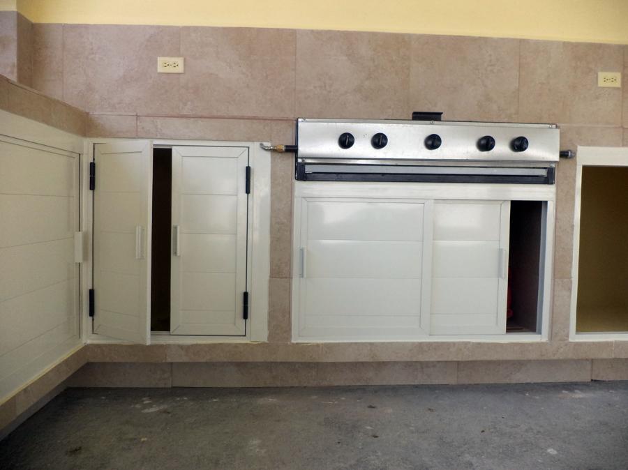 Foto puertas batientes de alacena de fachavent 32526 - Puertas corredizas para cocina ...