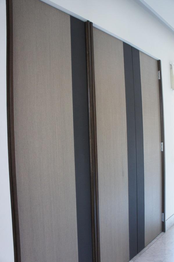 Puertas de Madera con acabado de Vinipiel