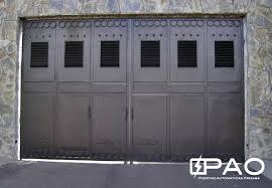 Foto puertas el ctricas de dise o proyecto y construccion - Puertas para cocheras electricas ...