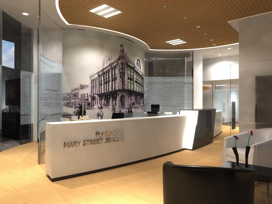 Recepción de la oficina de la Fundación Mary Street Jenkins