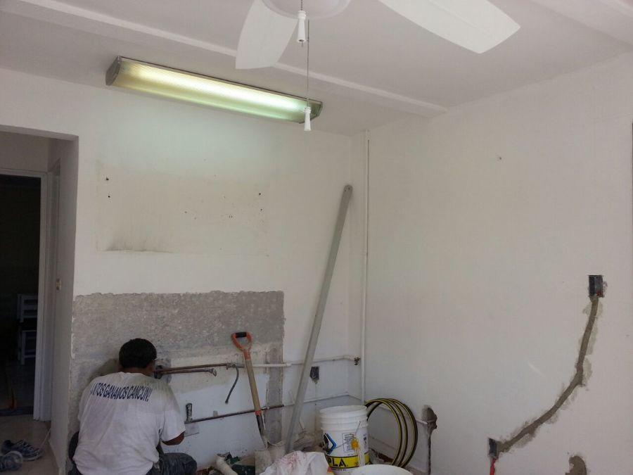 remodelacion de area de cocina comedor