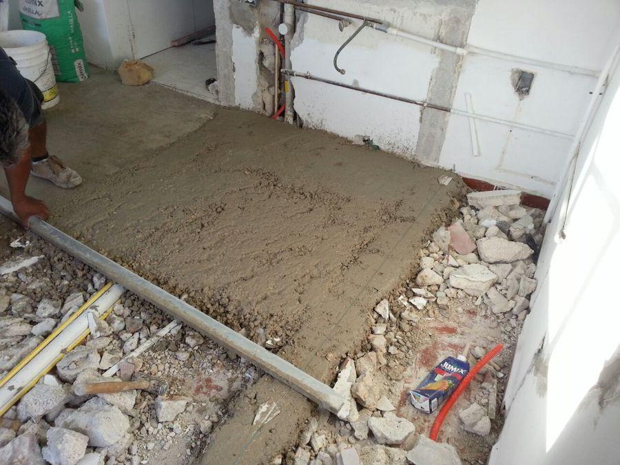 remodelacion de area de sala cocina y comedor