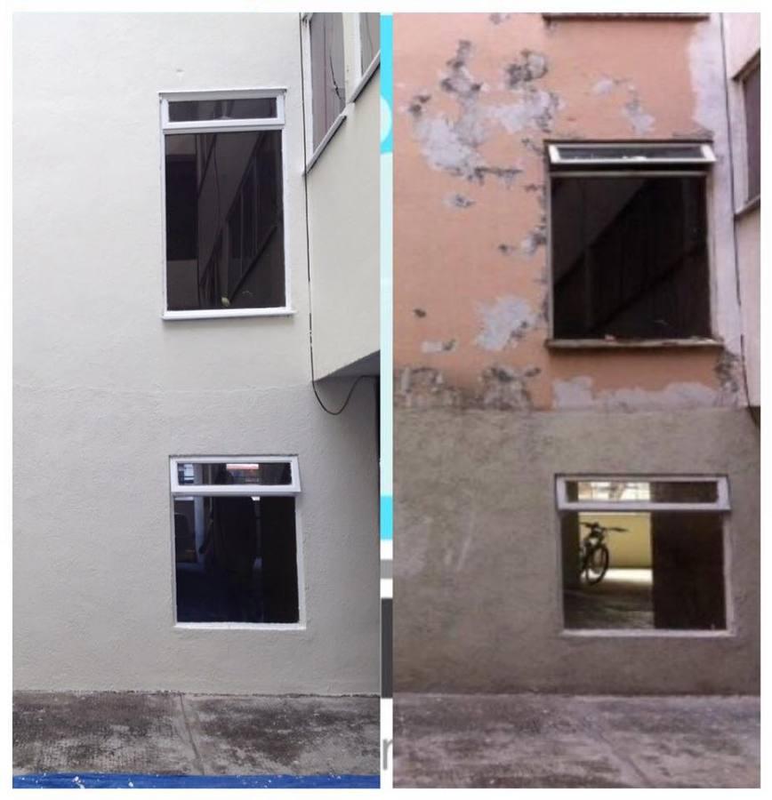 Remodelación de edificio de 10 pisos