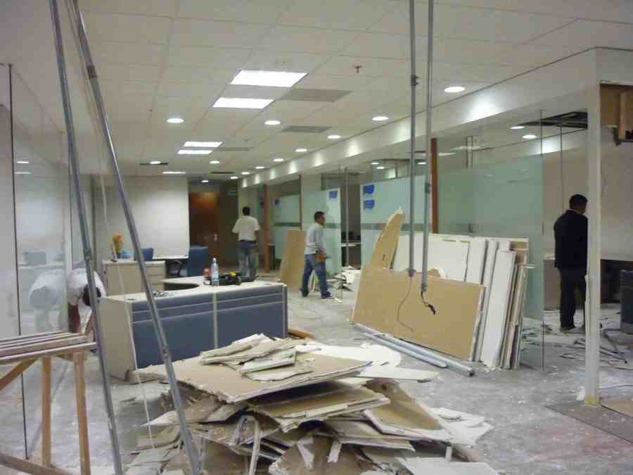 Cv de obras ideas materiales de construcci n for Remodelacion oficinas