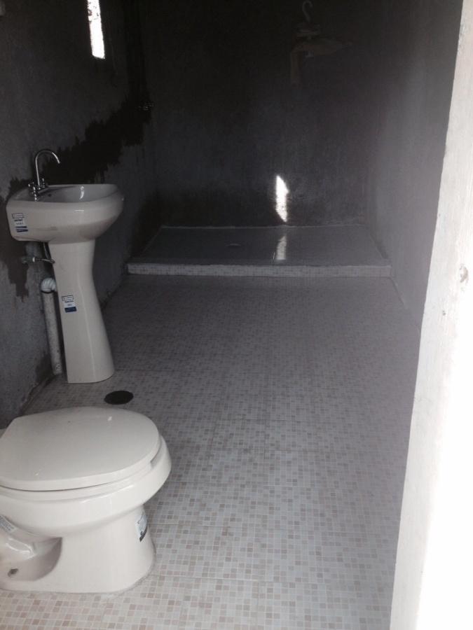 Muebles Para Baño Toluca:realizó la remodelación del cuarto de baño utilizando material de