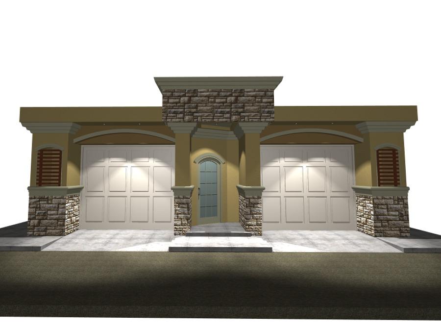 Foto remodelacion fachada exterior casa pl 2 de mr for Remodelacion de casas pequenas fotos