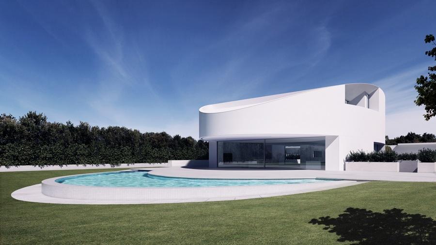 foto render casa balint de r quatro studio 160054 habitissimo. Black Bedroom Furniture Sets. Home Design Ideas