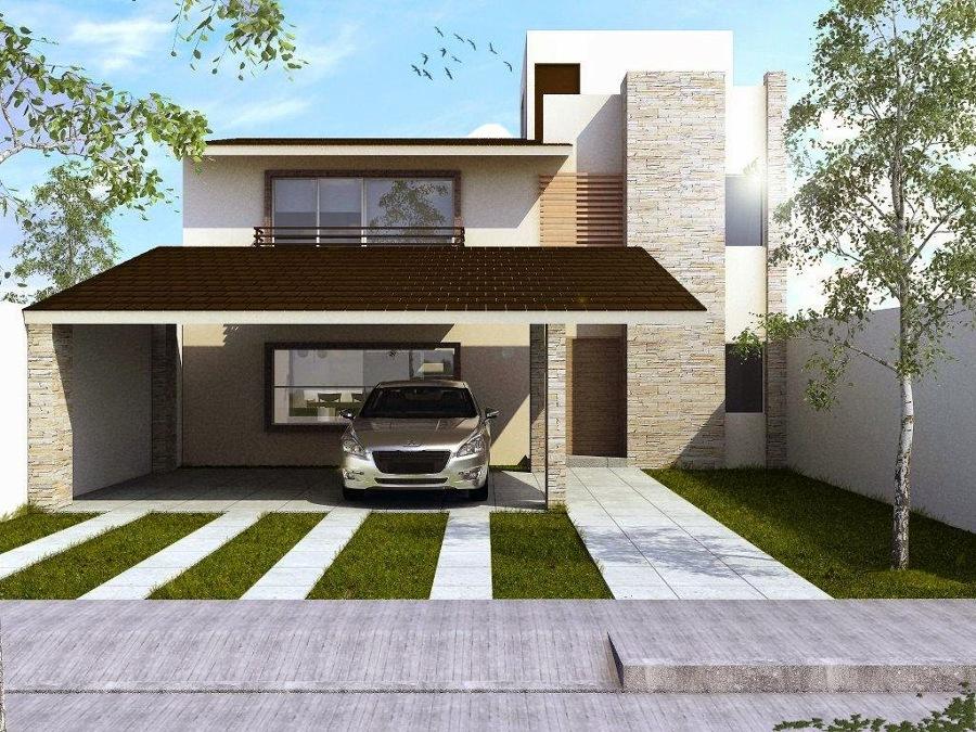 Grupo constructor gm ideas arquitectos for Render casa minimalista