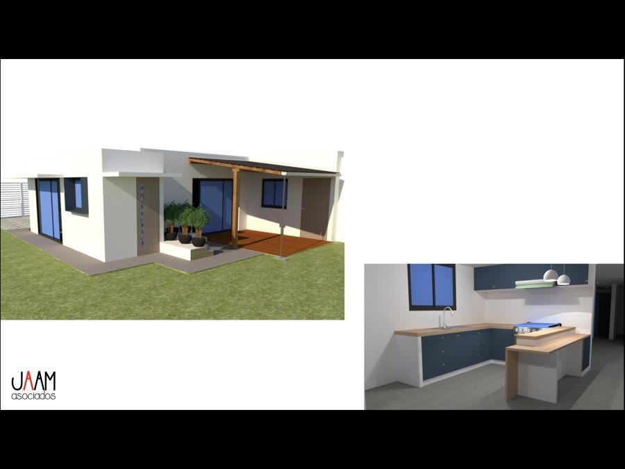 Render de fachada e interior