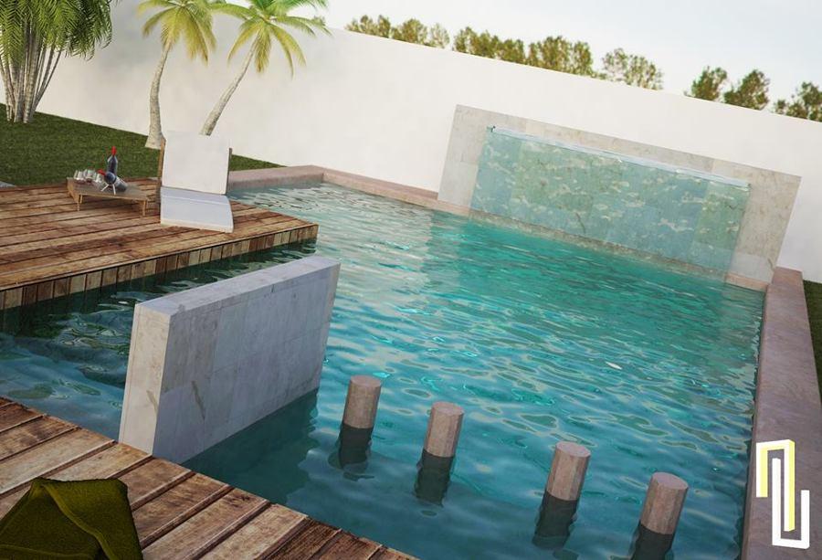 Foto render piscina de ab multiservicios 126312 for Rendering casa gratis