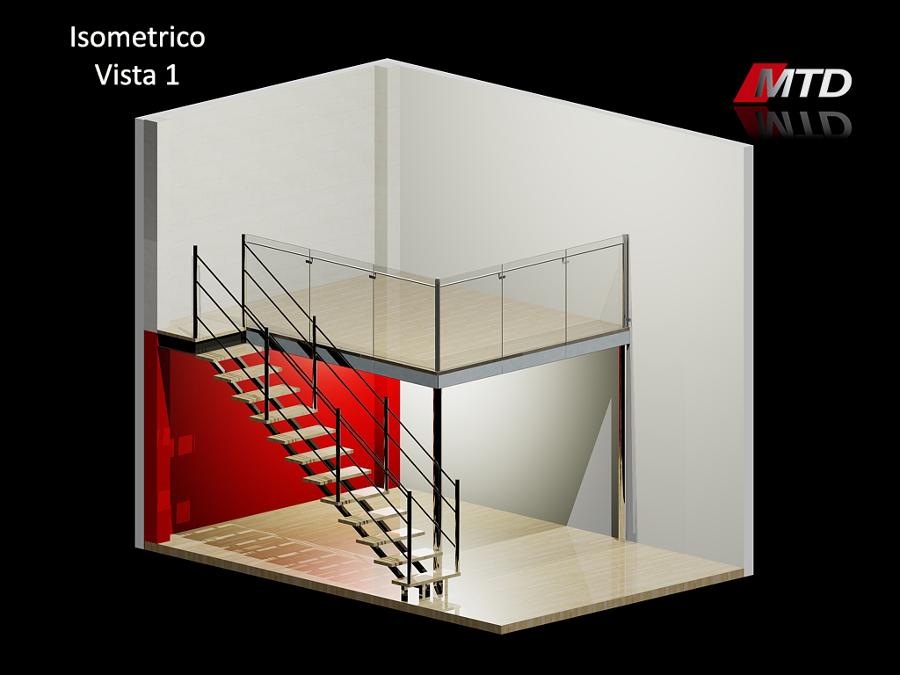 Render Y Diseño De Tapanco Render 2.