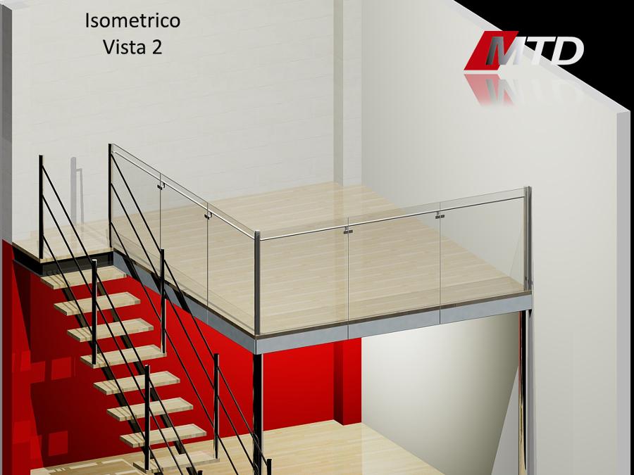 Render Y Diseño De Tapanco.