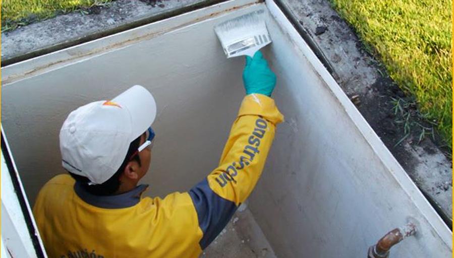 Reparación de cisterna