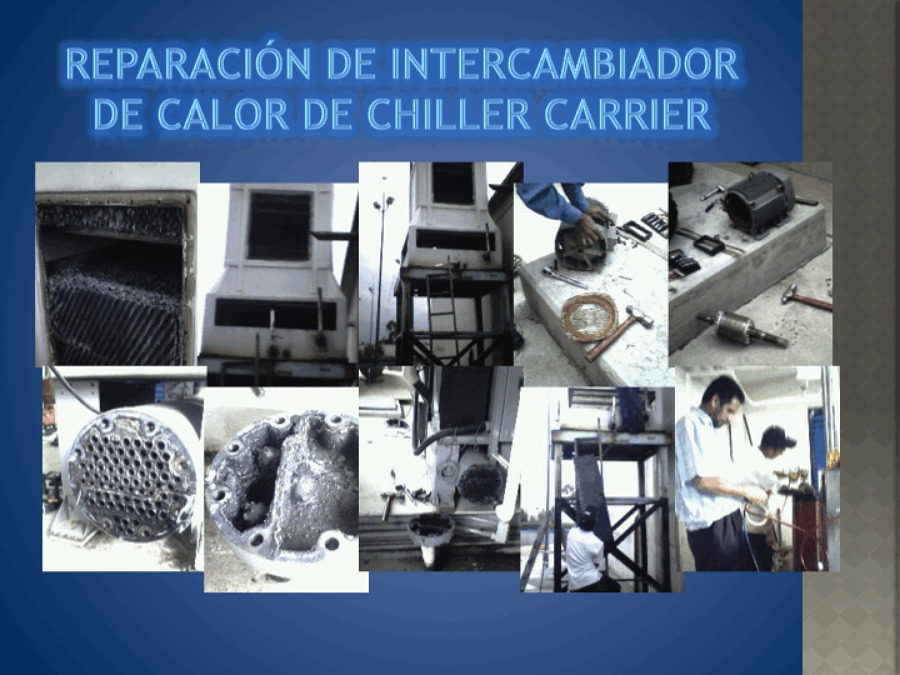 REPARACIÓN DE INTERCAMBIADOR EN GNP.