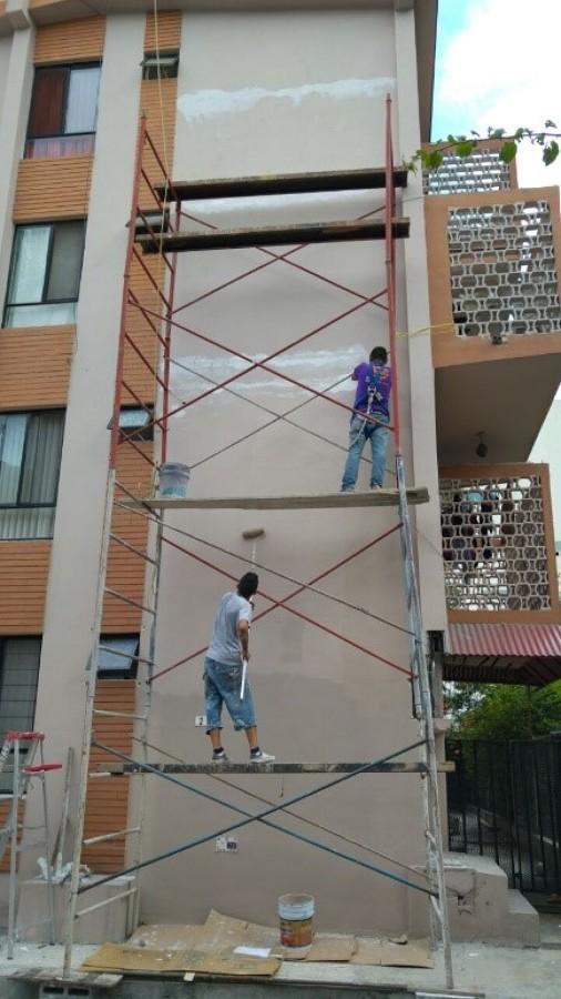 Reparacion y pintura  sellado