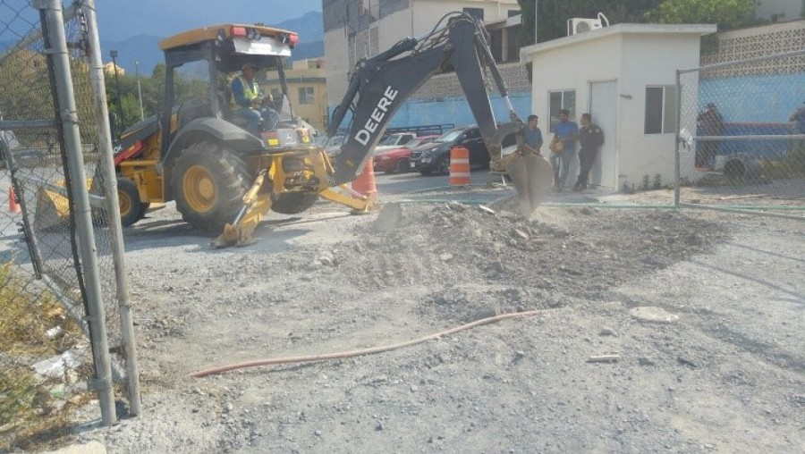 Reparcion de piso  estacionamiento