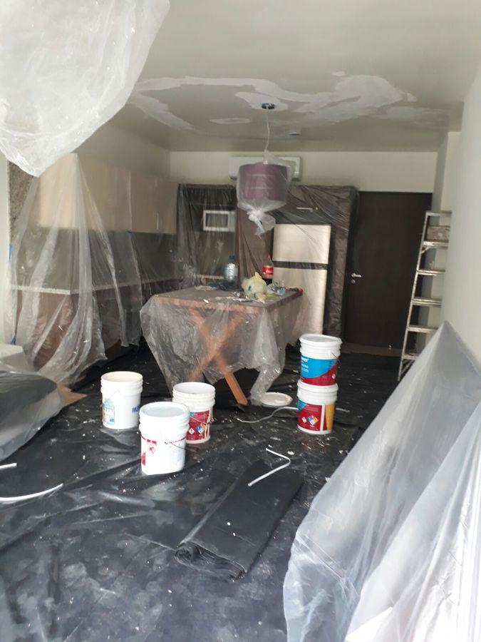 Restauracion de plafon con acabado yeso