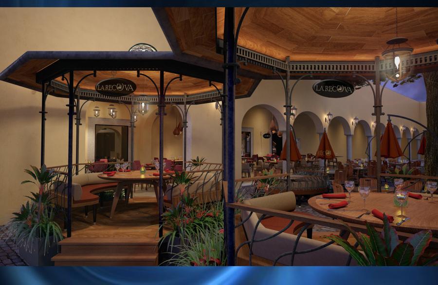 Restaurante la recova sta lucia merida yucat n ideas for Diseno de interiores merida