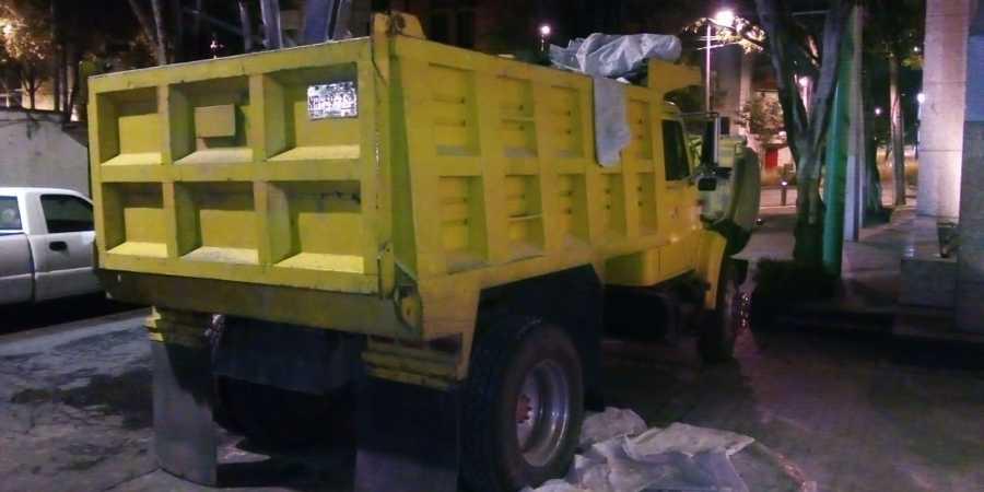 Retiro de escombro en camion