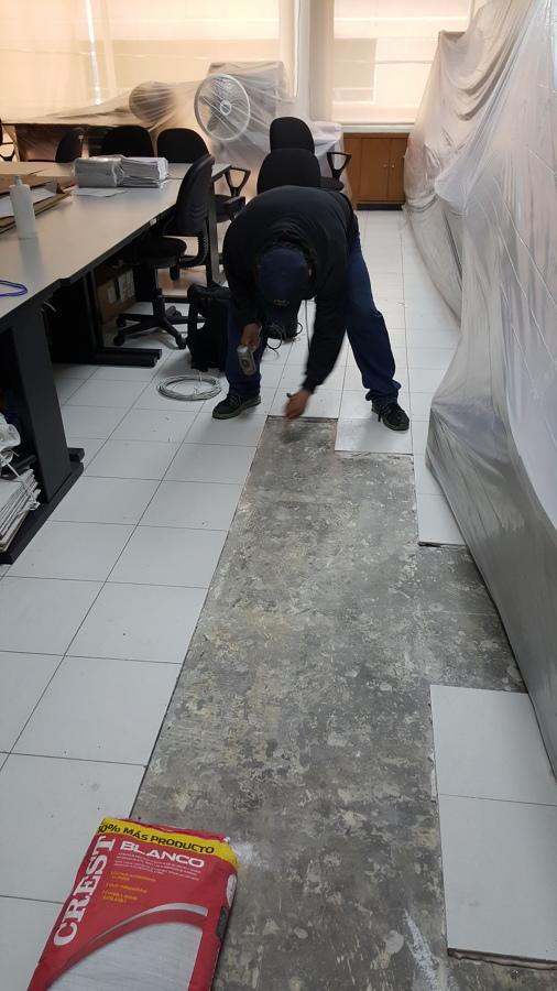 Retiro de piso